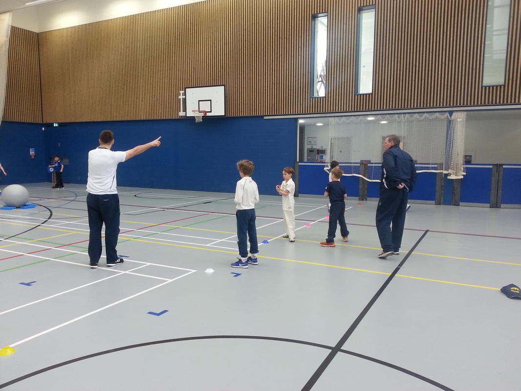 Cricket coaching in Leicestershire schools